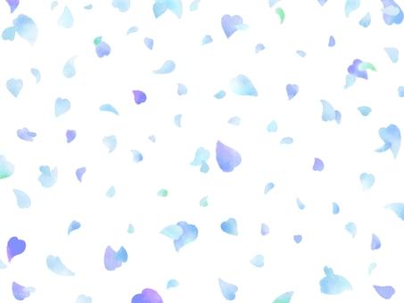 Flower confetti background watercolor 002