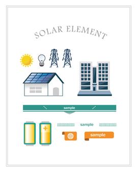 Solar elements