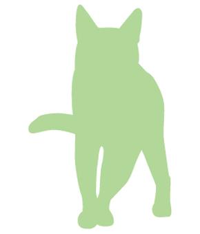 Cat's silhouette 03