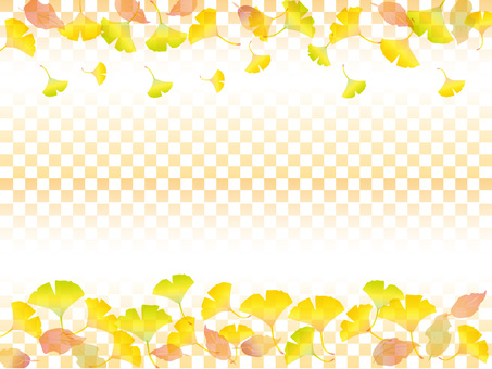 Japanese paper _ autumn leaves pattern 3