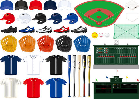 Baseball item set
