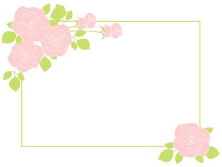 꽃 프레임 2