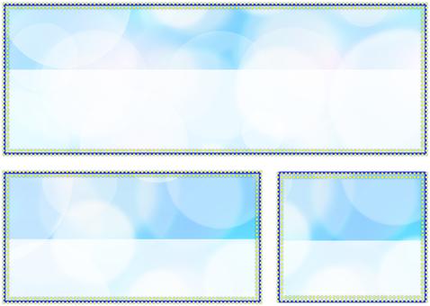 Fashionable frame 3 size 02