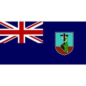蒙特塞拉特旗幟