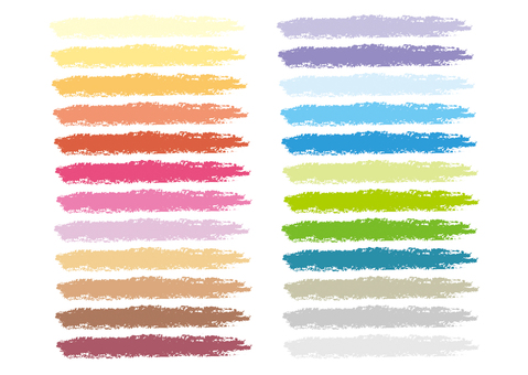 Colorful underber crayon style B