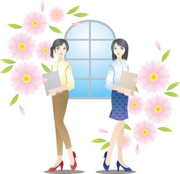 Women's illustration 4