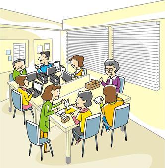 Culture classroom scene-01