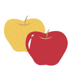 りんごと梨