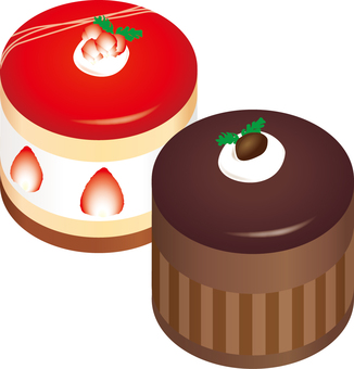 Food cake (2 kinds)