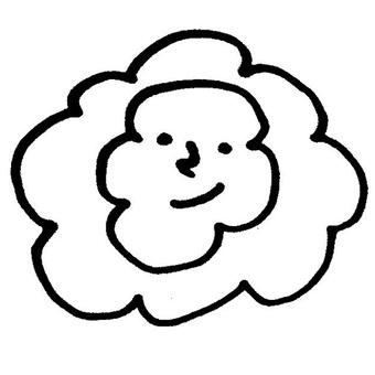 Fluffy like a flower