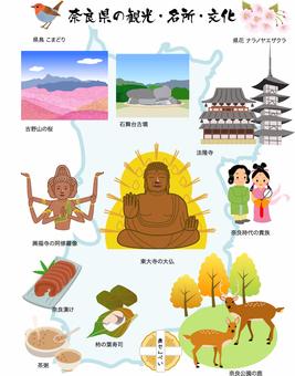 奈良県の素材 イラスト アイコン
