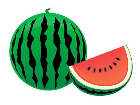 西瓜海藻西瓜