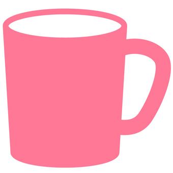 머그컵 조치 핑크