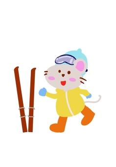 스키장의 쥐
