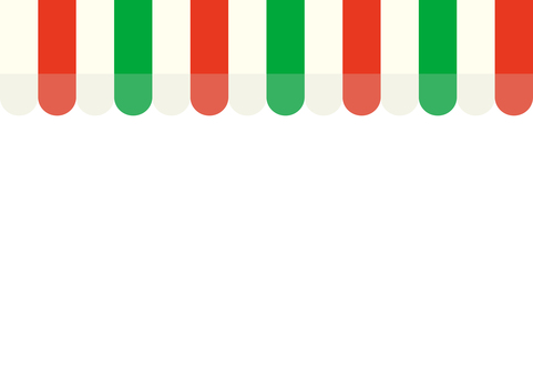Store tent (red × green × white)