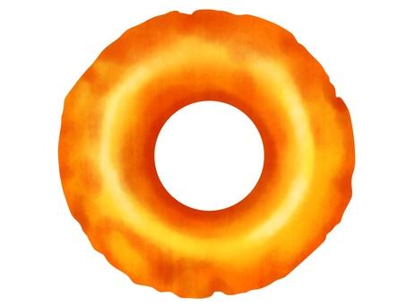 Donut old fashion