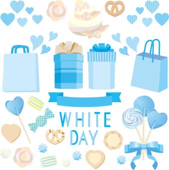 White day set 02