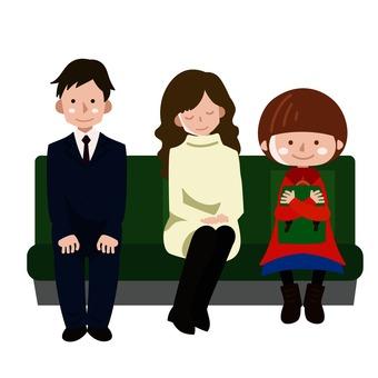Sit side by side