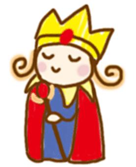 Illustration like a king