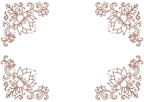 Henna frame