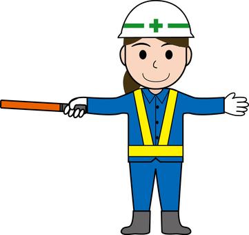 Guidance of female guardman 2