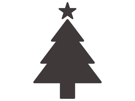 Christmas icon _ tree