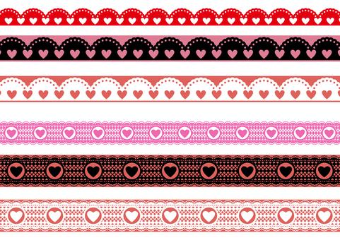 Valentine material 25