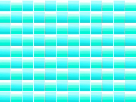 Blue glass tile background material