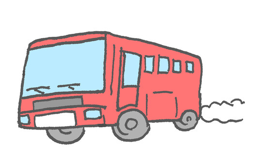 Bus Red