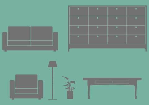 Furniture · Silhouette