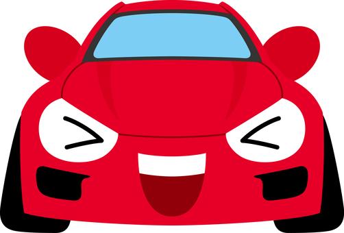 Car sports car happy