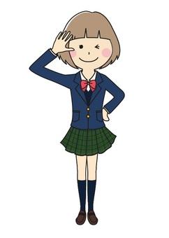 School girl 1 of 14