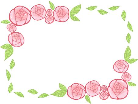 Rose frame 1