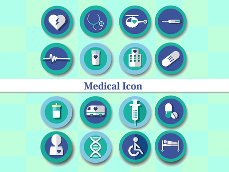 Medical medical icon set