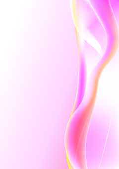 Pink wave shaped line background material