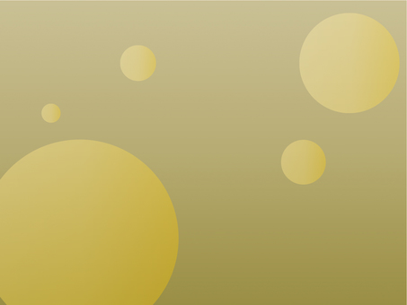 Wallpaper Round Graded Yellow Green