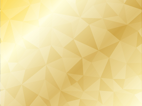 Polygon background gold