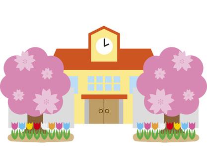 Spring nurseries · kindergartens