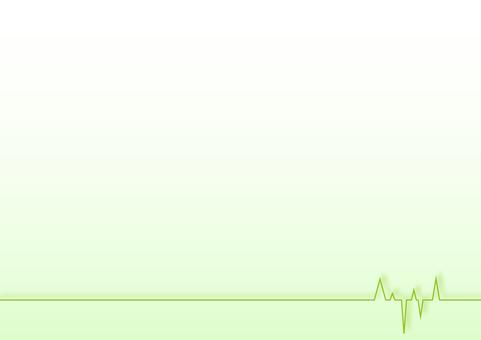 Waveform Background Green