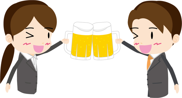 Drinking party (men and women)