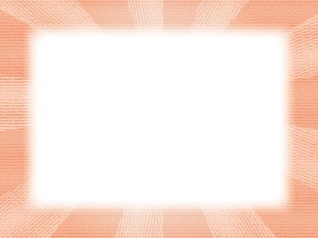 Wide frame (18) Solar Game Orange