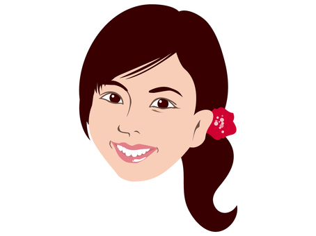 여성의 얼굴