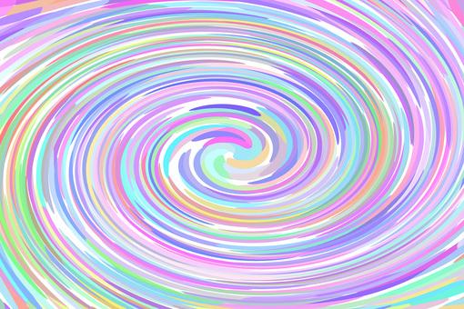 Pastel color spiral background 2