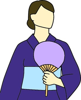 Yukata female color