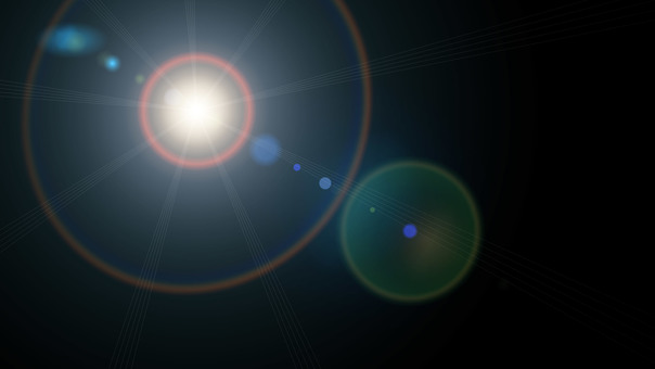 Lens flare image