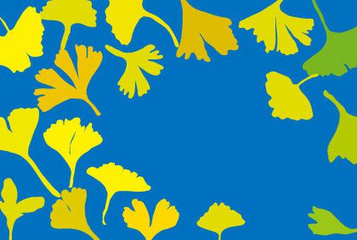 은행잎 벽지