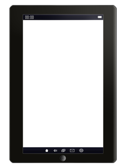 Tablet terminal (vertical)