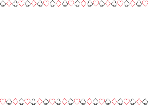 Pattern of playing cards 2b