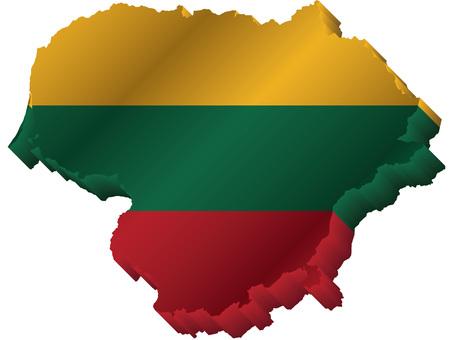 リトアニア国旗国土