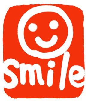 """貼紙""""微笑"""""""